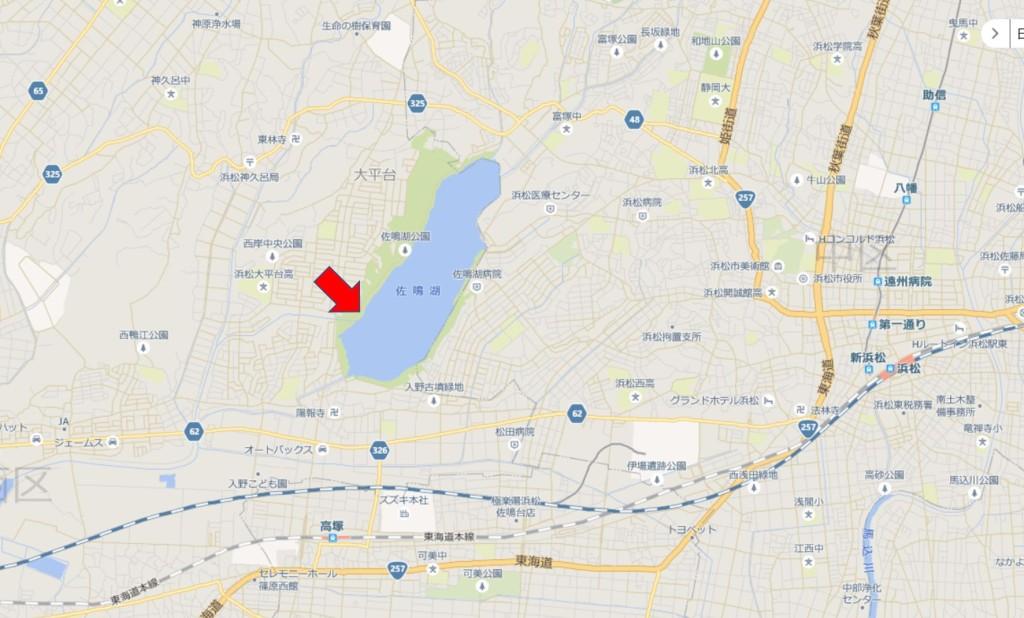 佐鳴湖地図2