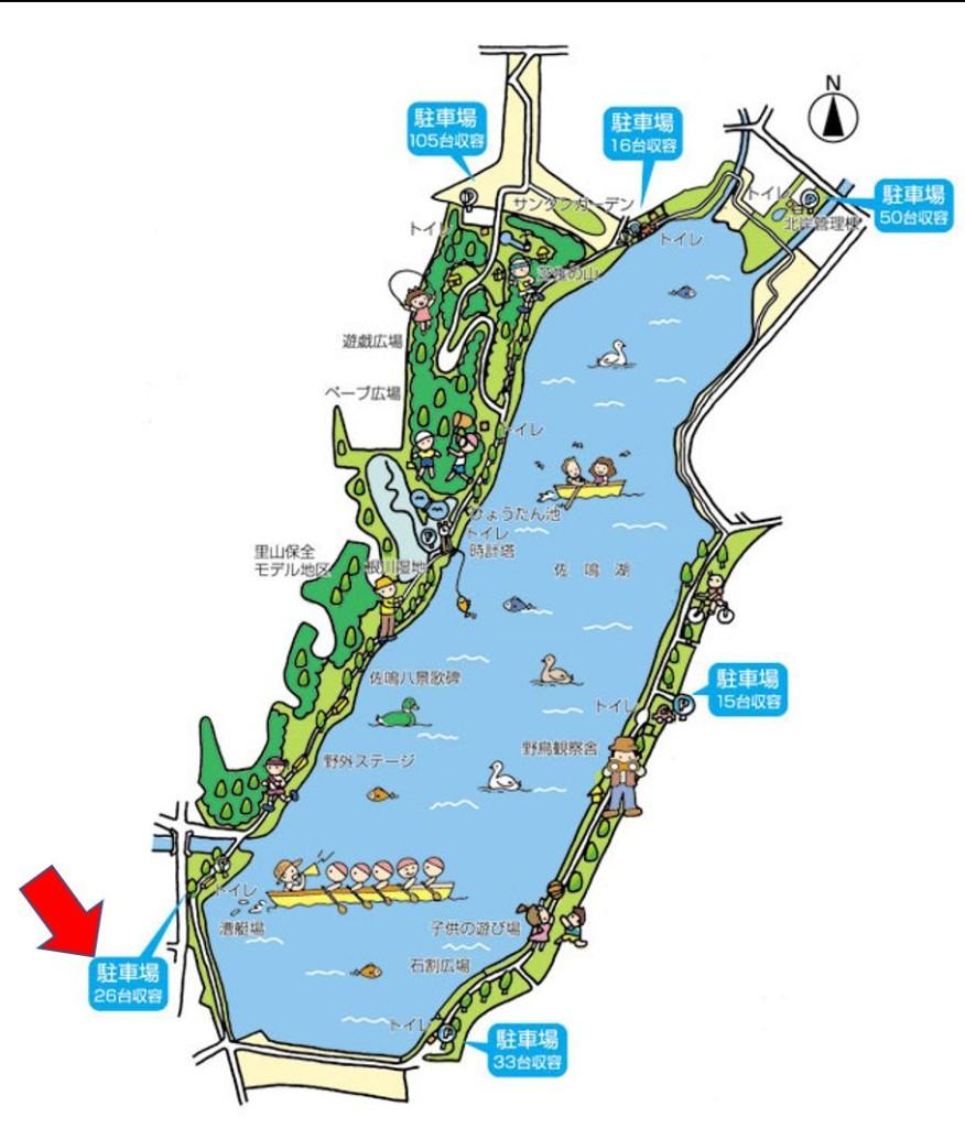 佐鳴湖地図3